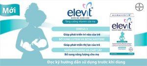Elevit sau sinh công dụng