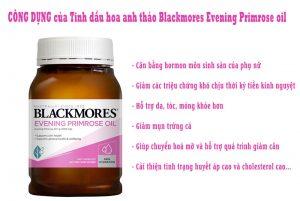 Tác dụng tinh dầu hoa anh thảo úc blackmores