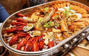 Bàbầu thiếu canxi nên ăn hải sản