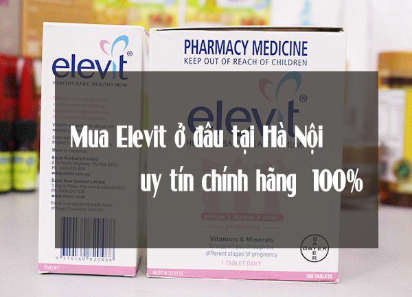 Mua Elevit ở đâu tại Hà Nội uy tín chính hãng