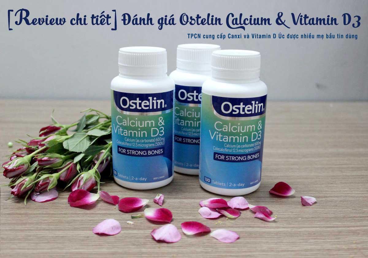 đánh giá Ostelin canxi và vitamin D3