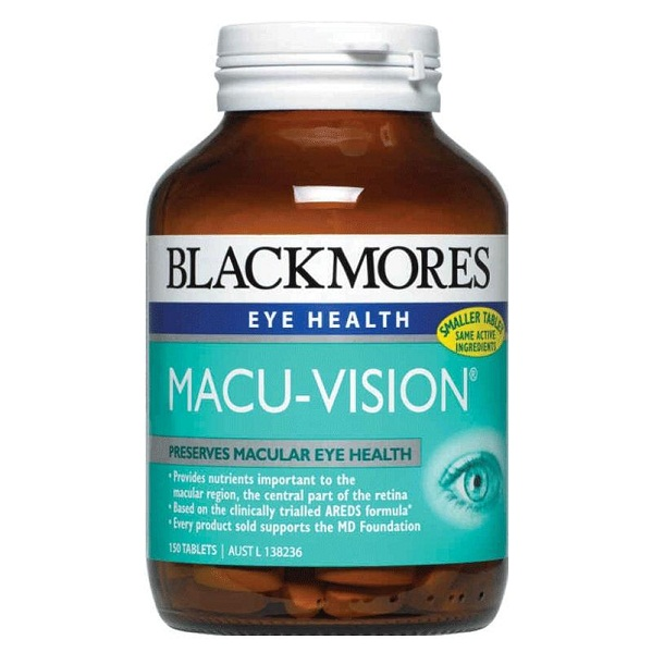 Thuốc bổ mắt của Úc Macu-Vision
