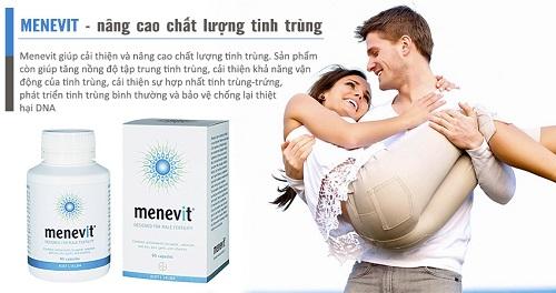 Công dụng Menevit