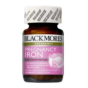 Thuốc sắt cho bà bầu blackmores