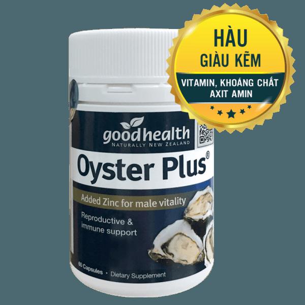 Tinh chất hàu Oyster Plus Goodhealth 60 viên – Tăng cường sinh lý phái mạnh