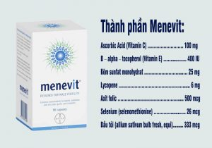 Thành phần Menevit