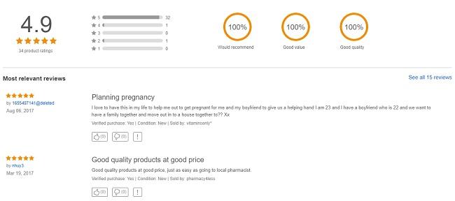 Review Elevit Ebay