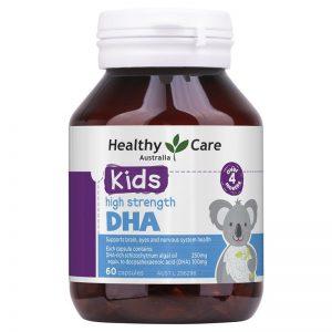 DHA Healthy Care 60 viên - Kids High Strength DHA mẫu mới nhất 2020