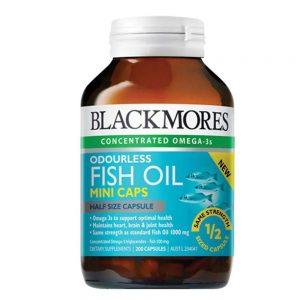Dầu cá Blackmores Fissh Oil 1000mg 200 viên