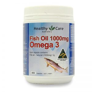 dầu cá Healthy Care mẫu cũ