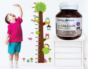 Công dụng của Canxi Milk Healthy Care