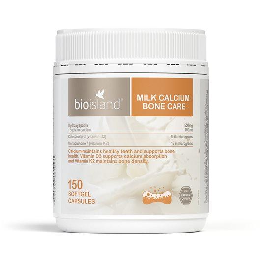 [MẪU MỚI] Canxi Bio Island Milk Calcium Bone Care150 viên chính hãng ÚC