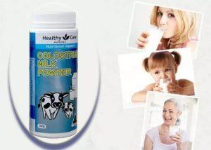 Cách uống Sữa bò non Úc Healthy Care