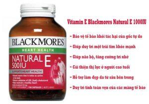 Công dụng Vitamin E blackmores