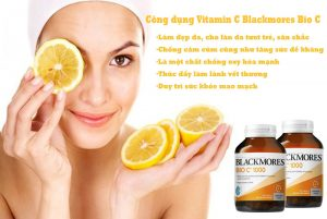 Công dụng vitamin C blackmores bio C