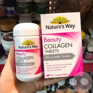 nature's way beauty collagen 60 viên