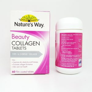 nature's way beauty collagen 60 viên