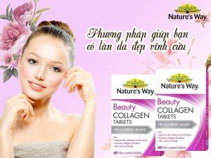 Công dụng nature's way beauty collagen 60 viên