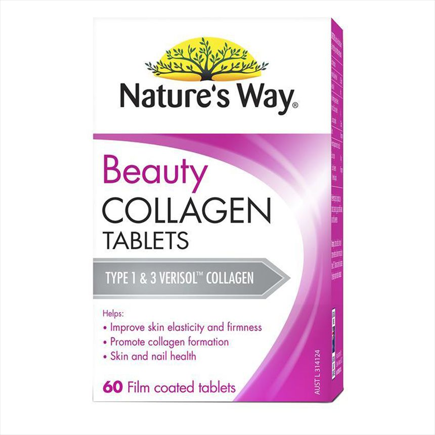 Viên uống Collagen Nature's Way Beauty Collagen 60 viên