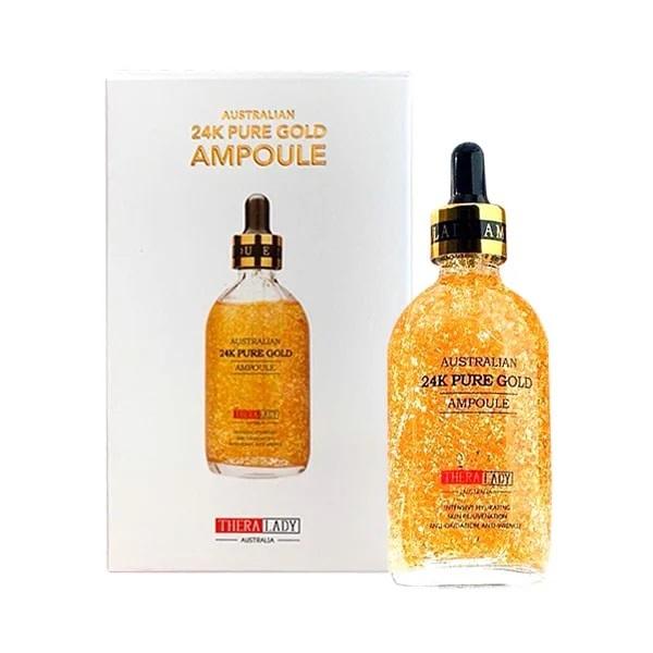 Serum tinh chất vàng 24k Thera Lady – Cấp ẩm, chống oxy hóa cho làn da trẻ đẹp