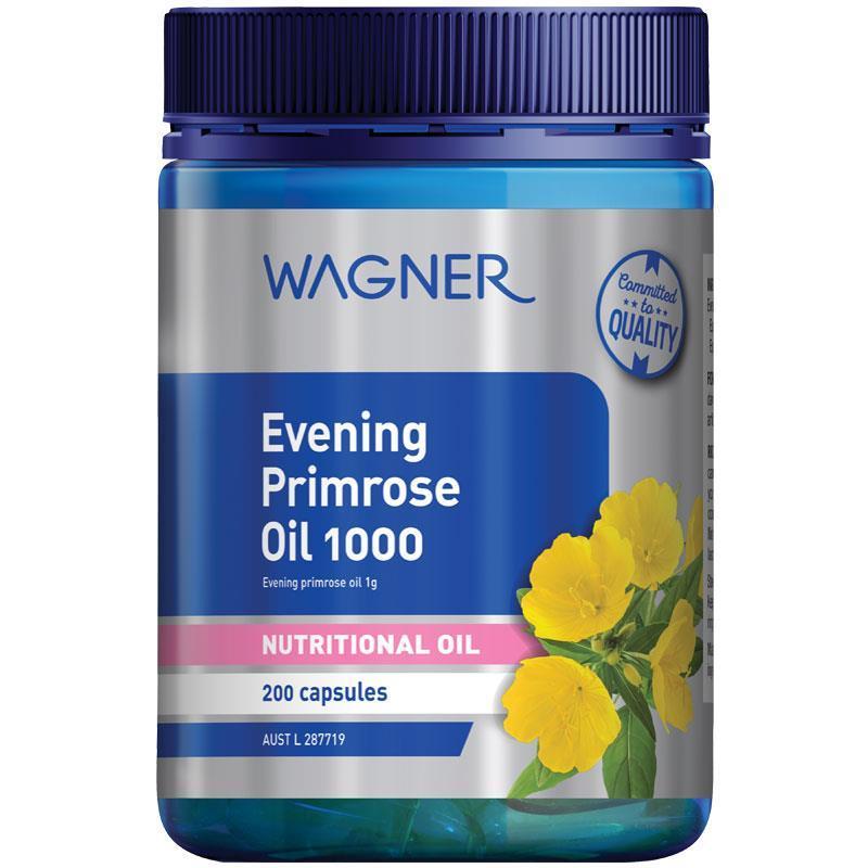 [DATE MỚI] Tinh dầu hoa anh thảo Wagner 200 viên- EPO giá tốt tại Úc