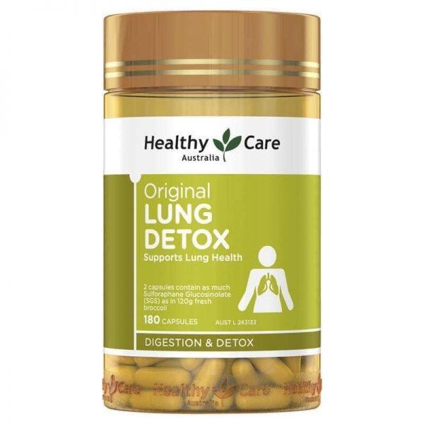 [MẪU MỚI] Lung Detox Healthy Care – Viên uống thải độc phổi #1 tại Úc