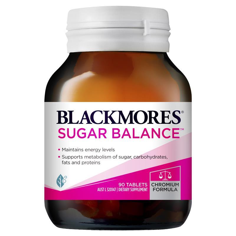[MẪU MỚI] Blackmores Sugar Balance 90 viên – Viên uống cân bằng đường huyết số 1 tại Úc