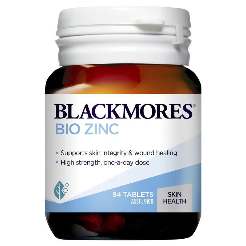 [MẪU MỚI] Blackmores Bio ZinC – Viên uống bổ sung Kẽm Số 1 tại Úc