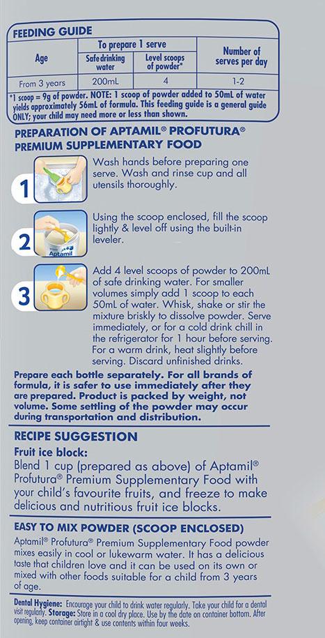 cách pha sữa aptamil úc số 4