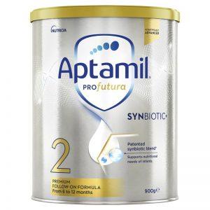 [MẪU MỚI]Sữa Aptamil Số 2 Profutura 900g Úc Cho Bé Từ 6-12 Tháng