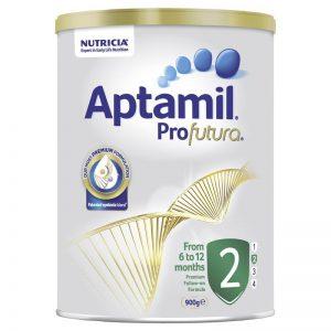 Sữa Aptamil Số 2 Profutura 900g Úc Cho Bé Từ 6-12 Tháng