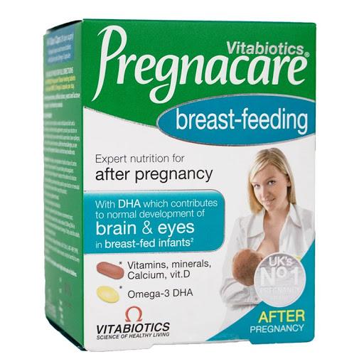 Pregnacare bú – Vitamin Pregnacare cho mẹ sau sinh Pregnacare Breast-feeding số #1 Anh quốc