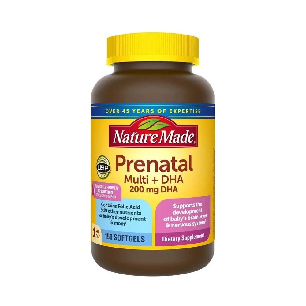 Vitamin bầu Prenatal – Vitamin tổng hợp cho mẹ bầu số #1 của Mỹ
