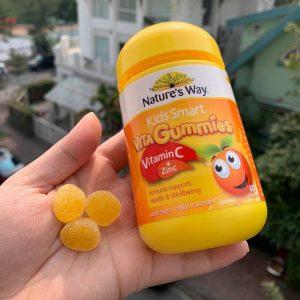 Cách dùng Gummies Vitamin C và kẽm