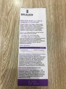 thành phần thuốc tăng sức đề kháng brauer