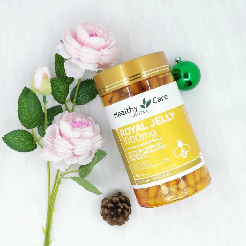 [REVIEW] Đánh giá chi tiết sữa ong chúa Healthy Care Úc 365 viên 1000mg