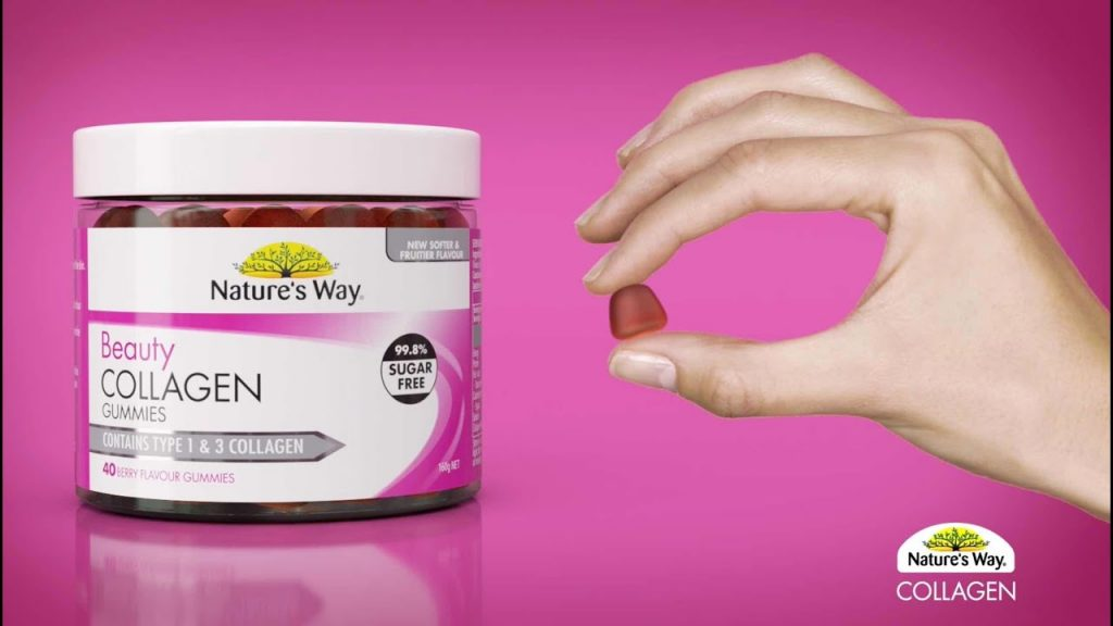 Kẹo Natures collagen Gummies