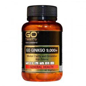 Go Healthy Go Ginkgo 9000mg