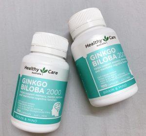 Ginkgo Biloba Healthy care