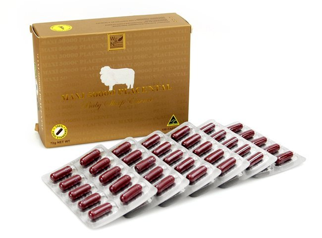 Nhau thai cừu maxi