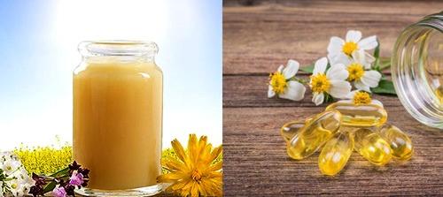 sữa ong chúa và vitamin E