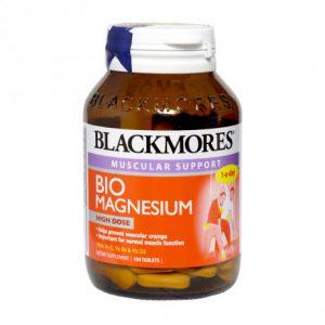 [BLACKMORES] Bio Magnesium 100 viên – Thực phẩm bảo vệ sức khỏe