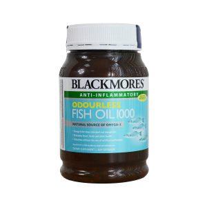 [BLACKMORES] Dầu cá Odourless Fish Oil 1000