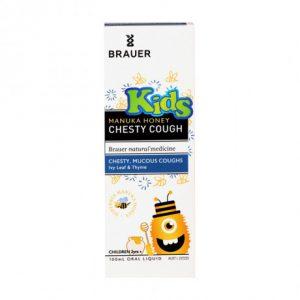[Brauer] Honey Kids Manuka Honey Chesty Cough (100ml)