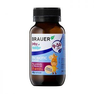 Brauer Baby & Toddler Probiotic 60g – Hỗ trợ tiêu hóa cho trẻ