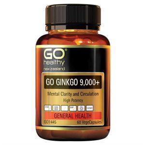 [GO HEALTHY] Viên uống bổ não Go Healthy New Zealand Go Ginkgo 9000+