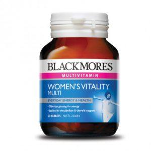 [BLACKMORES] Vitamin tổng hợp cho nữ Blackmores Womens Vitality Multi (50 viên/hộp)