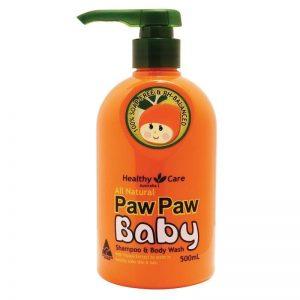 Sữa Tắm Gội Paw Paw Baby Healthy Care Úc Dành Cho Bé
