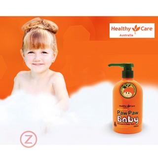 Sữa tắm cho bé Pawpaw Healthy