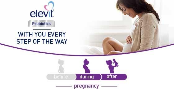 Thực phẩm chức năng Elevit Probiotics Men vi sinh cho